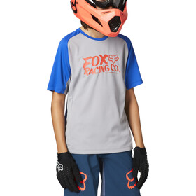Fox Defend SS Jersey Youth, steel grey